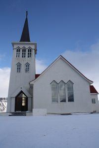 Kirche in Grundarfjörður
